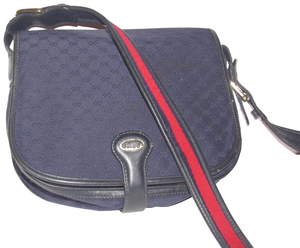 Gucci Early Mint Vintage Front Flap Snap Great Everyday Purse Shoulder Bag  Image 0 ... d035cb6211317