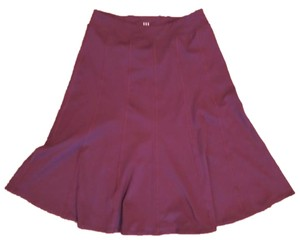 Title nine Athletic Polyester Spandex Travel Skirt Burgundy