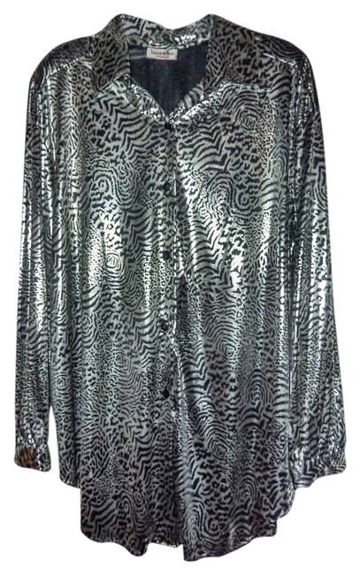 Preload https://item5.tradesy.com/images/silver-and-black-designer-night-out-top-size-18-xl-plus-0x-1733499-0-0.jpg?width=400&height=650