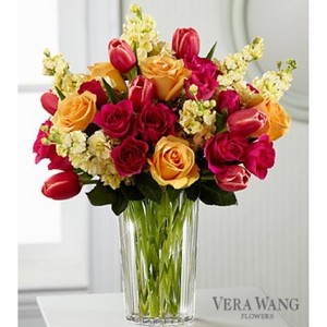 Vera Wang Flower Vase (flowers Not Incl.)
