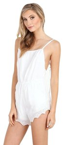 Winston White Embroidered Dress