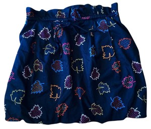 Marc by Marc Jacobs Bubble Navy Size 8 Date Night Mini Skirt Bright Navy
