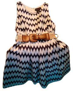 Teeze Me Ombre Blue Casual Size Pockets Dress