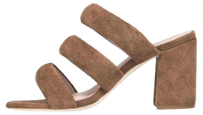 Item - Fawn / Brown Suede Kate Bosworth Kelly Sandals Size US 7.5 Regular (M, B)