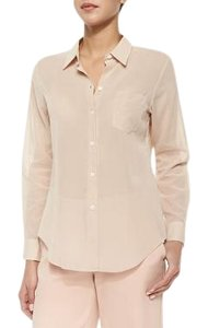 Theory New Light Longsleeve Button Down Shirt Light Cameo