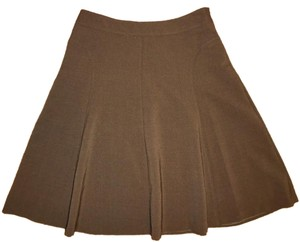 Alfani Career Work Skirt Dark Brown