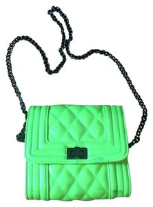 Charlotte Russe Chain Quilted Cross Body Bag