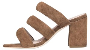 Matisse Kate Bosworth Kelly Sandal Fawn / Brown Suede Sandals