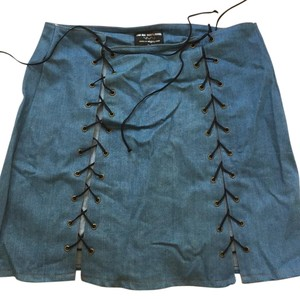 O-mighty Mini Skirt Denim