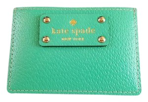 Kate Spade Wellesley Leather Graham Mini ID Card Case