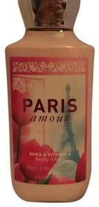 Bath and Body Works Paris Amour Shea Body Lotion