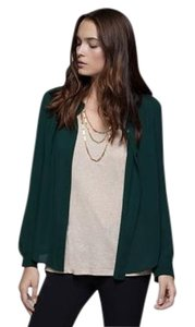 Theory New Silk Button Down Dressy Top Julep