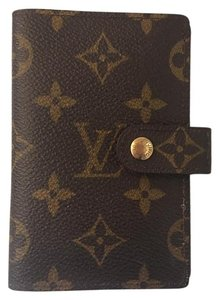 Louis Vuitton Louis Vuitton Address Book Monogram Canvas French Card Wallet