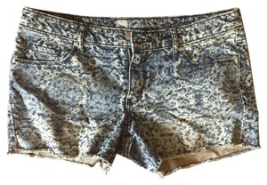 Mossimo Supply Co. Cheetah Leopard Cut Offs Mini/Short Shorts