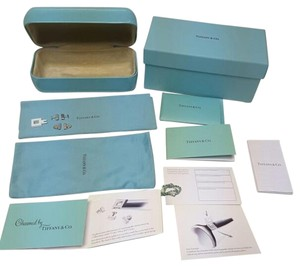 Tiffany & Co. Tiffany&Co 2 pairs of interchangeable charms,pouch,box,and card