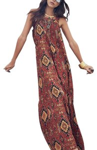 Brown Maxi Dress by Chaser