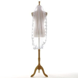 1 Layer Wedding Veil Fingertips Length New
