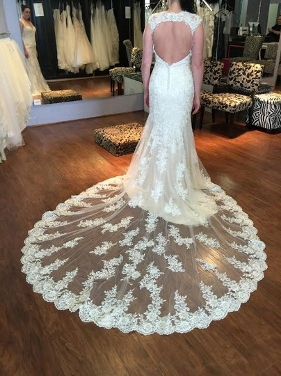 Preload https://img-static.tradesy.com/item/17338117/maggie-sottero-ivory-gold-lace-collins-formal-wedding-dress-size-6-s-0-1-540-540.jpg
