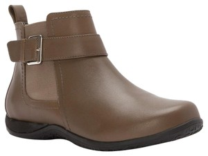 Vionic Adrie Casual Ankle Boot Taupe Boots