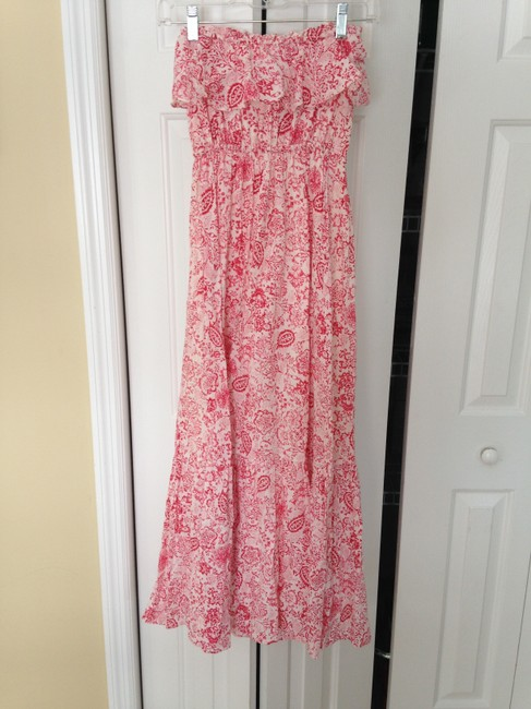 Pink and Cream Maxi Dress by Juicy Couture