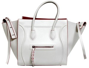 Céline Runway Limited Edition Tote in Optic White