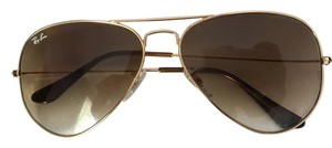 Ray-Ban Ray Ban Aviators- Gradient Tan