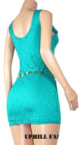 UPHILL FASHION short dress BLUE-GREEN-BLACK-WHITE-RED-ORANGE on Tradesy