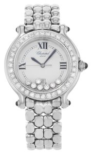Chopard Chopard Happy Sport 27/8236-3005 Steel & Diamonds Quartz Watch (13528)