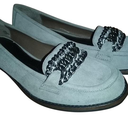 B. Makowsky Gray Greer Flats Size US 6.5 Regular (M, B) Image 0