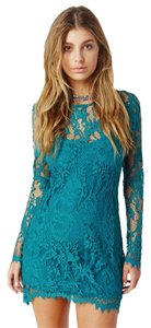 For Love & Lemons Lace Longsleeve Dress