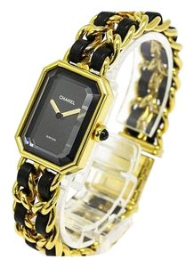 Chanel Chanel Premiere Gold Chain Leather Watch