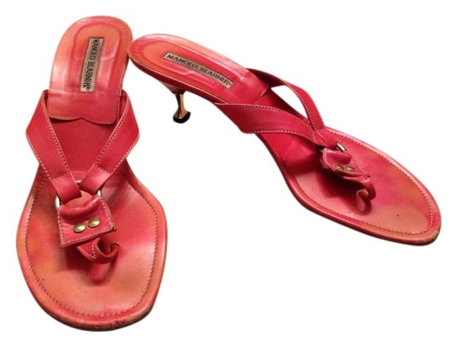Item - Coral Stiletto Sandals Size US 8.5 Regular (M, B)