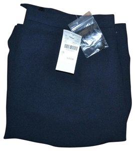 Petite Sophisticate Church Work Wear Professional Skirt Navy blue