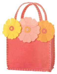 Groovy Holidays Fuchsia Bag with 3 Flowers