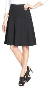 Eileen Fisher Flippy Skirt BLACK