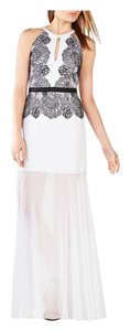 BCBGMAXAZRIA Gown Evening Couture Full Length Bridal Dress