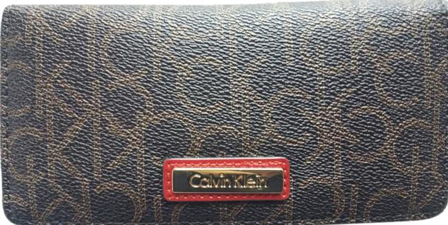 Item - Brown/Red Trim With Wallet
