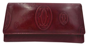 Cartier Wallet Wristlet in Red
