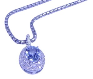 9.2.5 Lovely Oval shape Starburst cut Aquamarine Simulant Pendant 4 CT Natural Precious Stone CZ in Halo Setting Sterling Silver