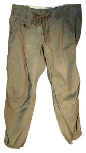 Anthropologie G1 Cargo Utility Pants Olive Leggings