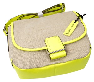 Gap Leather Neon Spring Cross Body Bag