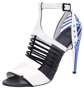 Fendi Multi-Color (Black and White) Sandals