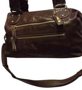 Cole Haan Satchel in Rich Dark Chocolate