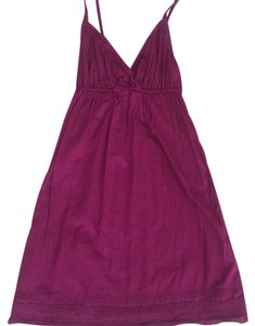 Old Navy short dress Cranberry on Tradesy
