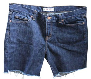 J Brand Cut Off Shorts Dark Denim