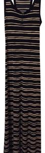 Navy and white Maxi Dress by Tory Burch