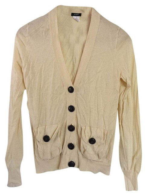 Preload https://item2.tradesy.com/images/jcrew-cream-button-pocket-cardigan-size-4-s-1734386-0-0.jpg?width=400&height=650