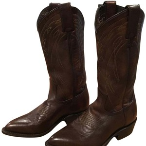 Frye Pull On Billy Pull On Western Dark Brown Boots