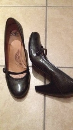Eürosoft by Söfft gray patent leather Pumps