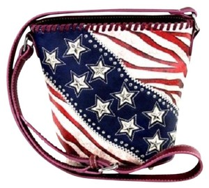 Montana West American Pride Studded Cross Body Bag